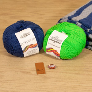 Jimmy Beans Wool Football Scarf Starter Kit kits Seattle
