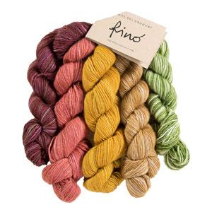 Manos Del Uruguay Fino Miniskein Sets yarn 15 Rosaline