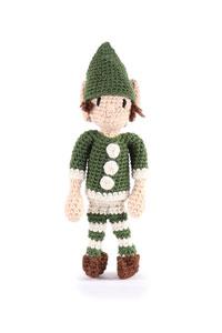 Toft Amigurumi Crochet Kit kits Mini Elf- Green