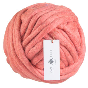 Love Fest Fibers Tough Love Tiny yarn Guava