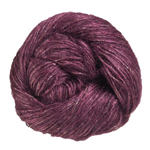 Shibui Knits Tweed Silk Cloud yarn 2206 Black Plum