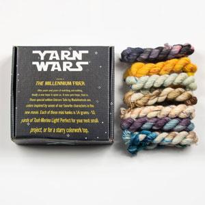 Jimmy Beans Wool YARN WARS kits The Millennium Fiber