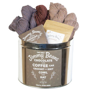 Jimmy Beans Wool Coffee and Chocolate Valentine kits Coffee and Chocolate Valentine