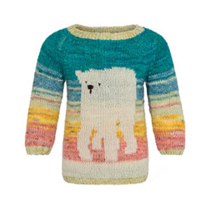 Cashmere Company R:E:D Rescue Endangered by Design Kits kits R:E:D: Polar Bear (Child)