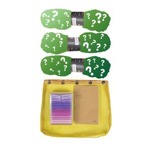Madelinetosh 3 Skein Onesie Mystery Grab Bags kits Tosh Merino Light - Greens