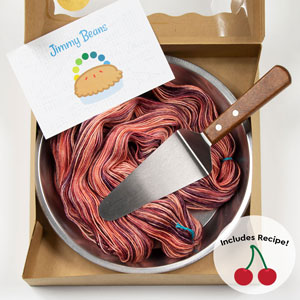 Jimmy Beans Wool Pi Day/Pie Day! Shawl kits Cherry Pi