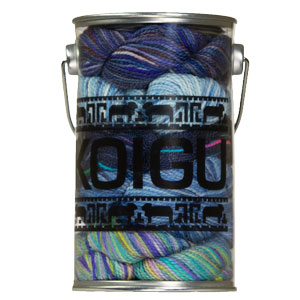 Koigu Paint Cans yarn Winter Tapestry- Blues