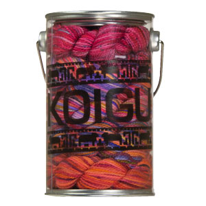 Koigu Paint Cans yarn Snowman's Soul- Reds