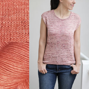 Jimmy Beans Wool Madelinetosh Sweater Club kits Sierra Sunrise - L, XL, XXL (46, 50, 54) inches