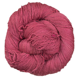 Neighborhood Fiber Co Rustic Fingering yarn Cochineal
