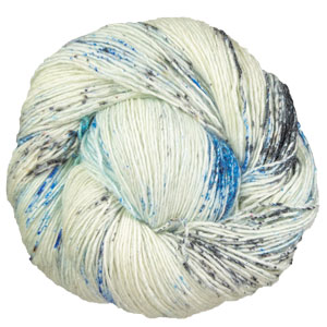Madelinetosh Tosh Merino Light + Glitter yarn Stormborn