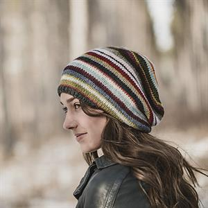 Woolstok Color Slouch Hat pattern