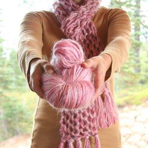 Pink Scarf Kit