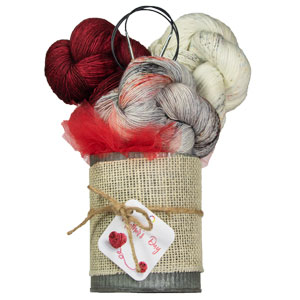 Jimmy Beans Wool Madelinetosh Yarn Bouquets kits Free Your Fade Bouquet - Tart