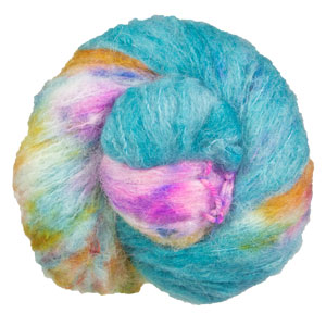 Qing Fibre Melted Baby Suri yarn Surfing