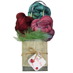 Jimmy Beans Wool Madelinetosh Yarn Bouquets kits Teroldego - Danger Will Robinson
