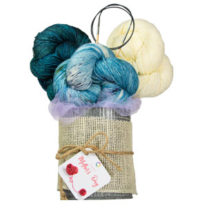 Jimmy Beans Wool Madelinetosh Yarn Bouquets kits Teroldego - Cousteau