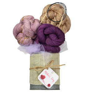 Jimmy Beans Wool Madelinetosh Yarn Bouquets kits Free Your Fade - Star Scatter