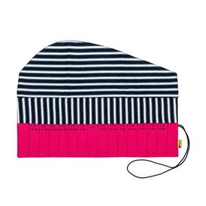 della Q Crochet Roll - 168-2 *Linen Brights - Fuchsia