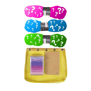 Madelinetosh 3 Skein Onesie Mystery Grab Bags kits High Twist - Brights
