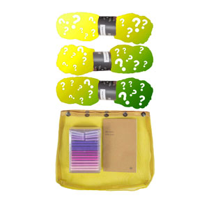 Madelinetosh 3 Skein Onesie Mystery Grab Bags kits High Twist - Greens & Yellows