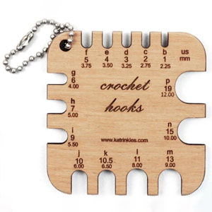 Katrinkles Mini Tools Crochet Hooks Gauge