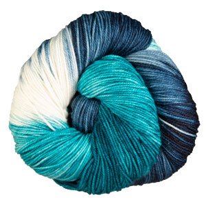 Anzula Squishy yarn Blue Lagoon (Limited Edition Summer '20)