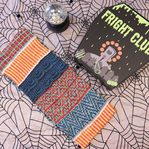 Jimmy Beans Wool Fright Club kits 2020 - Cowl-O-Ween (Mellow)