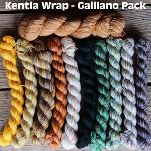 Koigu Kentia Wrap Kit kits Galliano