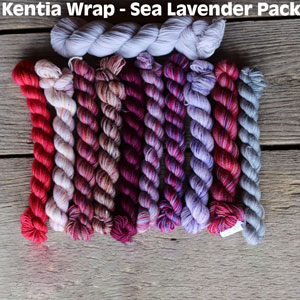 Koigu Kentia Wrap Kit kits Sea Lavender