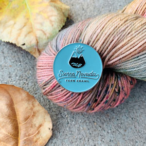 Jimmy Beans Wool Sierra Nevada Yarn Crawl 2020 Pin