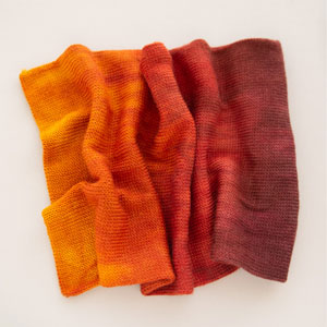 SweetGeorgia Double Sock Blanks yarn Old Flame