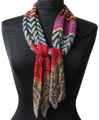 Welcome To The Artyarns 10 Yarn Scarf Free Knitting Pattern Download
