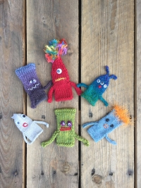 Knit Monster Puppets