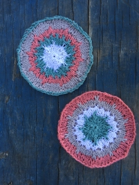 Knit Coasters