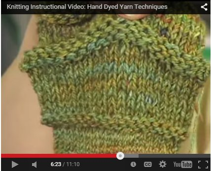 Hand Dyed Yarn Techniques