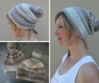 07f2eef361412 ... Griddle Stitch and Camel Stitch to give the hat extra texture. Like the  knit version