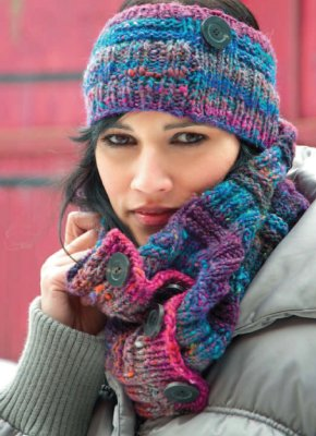 3e0e82d68c3 Welcome to the Noro Crushers Loop and Headband Free Knitting Pattern ...