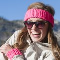 Stitch Mountain Retro Headband and Wristers