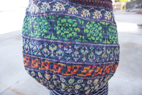 Koigu Bloom and Foliage Bag