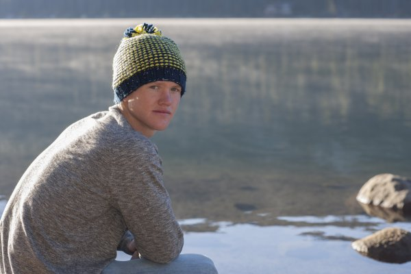 Stitch Mountain Night Rider Slouch Hat Free Knitting Pattern