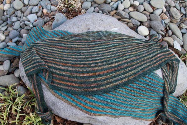Truckee Shawlette Free Knitting Pattern At Jimmy Beans Wool