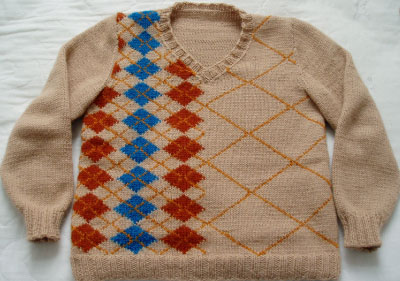 September 2007 Pattern Contest Winner - Buster by Ruth Homrighaus
