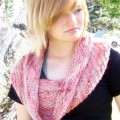 Hand Paint Chunky Landscape Collection - Alpaca Hug Cowl