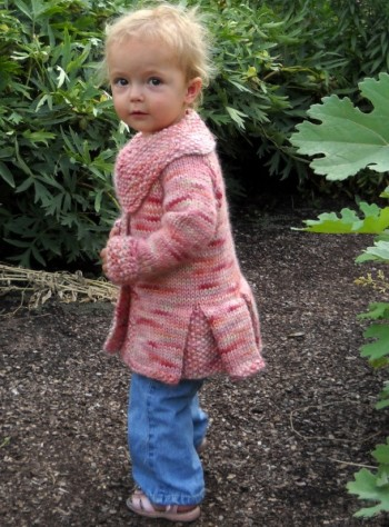 Free Knitting Pattern Toddler Jacket : Landscape Collection :: Free Petite Panache Knitting Pattern at Jimmy Beans Wool