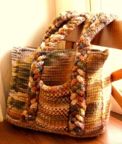 Landscape Collection Woven Bag