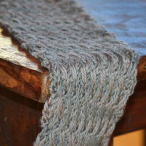 Scarves to Throws - Month 1 - Free Knitting Pattern