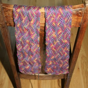 Scarves to Throws - Month 2 - Free Knitting Pattern