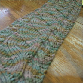 Scarves to Throws - Month 3 - Free Knitting Pattern
