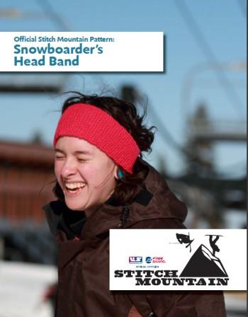 Stitch Mountain Free Snowboarders Headband Knitting Pattern At